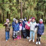 1.a klase talko Riekstu mežā
